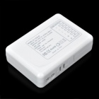 6-USB-portti AC laturi adapteri w / USA tulpat iphone / ipad / ipod / samsung tablet PC - white