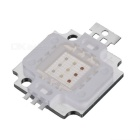 10W Square 3 x 3 LED RGB Light Module - White + Silver