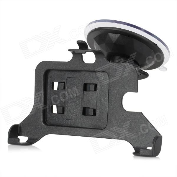 Car Windshield Swiel Mount Holder for Sony Xperia ZL L35h - Black bulestar mini abs car suction cup mount holder for sony xperia z2 l50w black