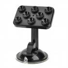 JieXun JX1-020 Universal Suction Cup Holder Stand 360 Degree Rotation Bracket for Cellphone - Black