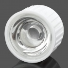 22mm 30 Degree Condensing Lens for LED Light - White (5 PCS)