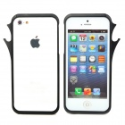 Cool Beer Bottle Opener Style Protective Aluminum Alloy Bumper Frame for iPhone 5 - Black