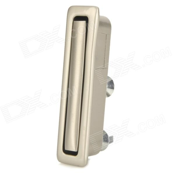Zinc Alloy Rectangular Groove Door Handle - Silver dual frequency ultrasonic cleaner 300w 28khz 40khz uce ff 300w