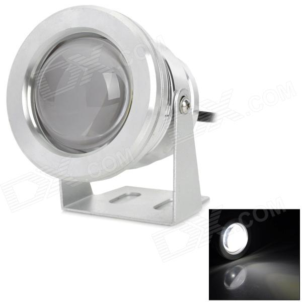 IP67 Waterproof 10W 700lm 6500K White Light LED Spotlight / Underwater Lamp - Silver