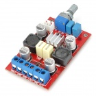 TP-3123 Digital 2 x 20W Amplifier Board w/ TP3123 Heatsink - Red