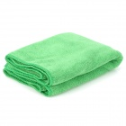 JinHuangGuan HQS-Y32815 Superfine Fiber Hair-Drying Towel - Lime Green