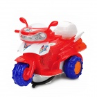 3889 Electric Drift Motorcycle Toy w/ Music - Red (3 x AA)