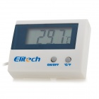 """Elitech ST-1A Multi-function 1.8""""  Digital Thermometer - White + Deep Blue"""