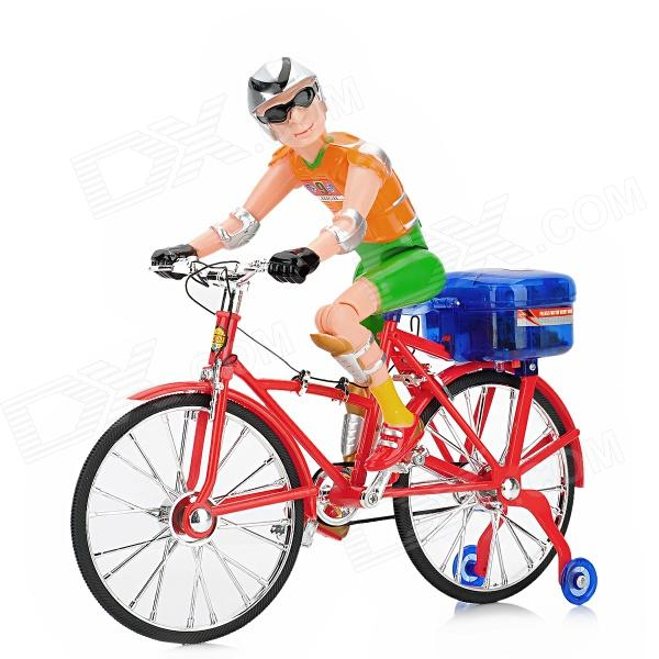 Plastic Electric Bicycle / Bike w/ Light / Music + Male ...