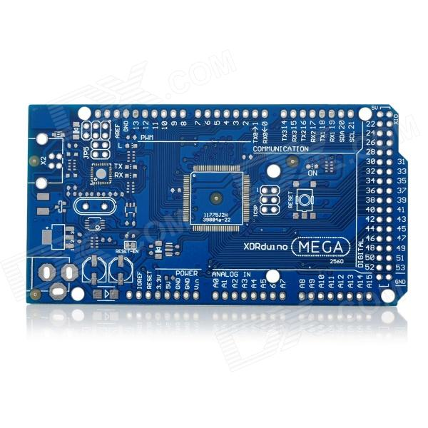2560 R3 PCB Board - Blue + Silver quality a single one green board vd tcs cdp with bluetooth 2014 r2 2015 r3 optional software plastic suitcase for cars trucks