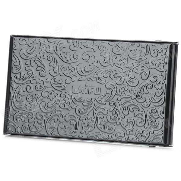 Sliding business card holder gallery business card template two side flower embossed pattern sliding type business card holder two side flower embossed pattern sliding colourmoves