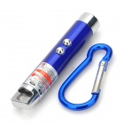 HHL-02-LANSE LED Keychain w/ 5mW 650nm Red Laser - Blue