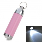 HHL-01-FENHONGSE Aluminum Alloy White Light Adjustable Focus LED Keychain - Light Pink