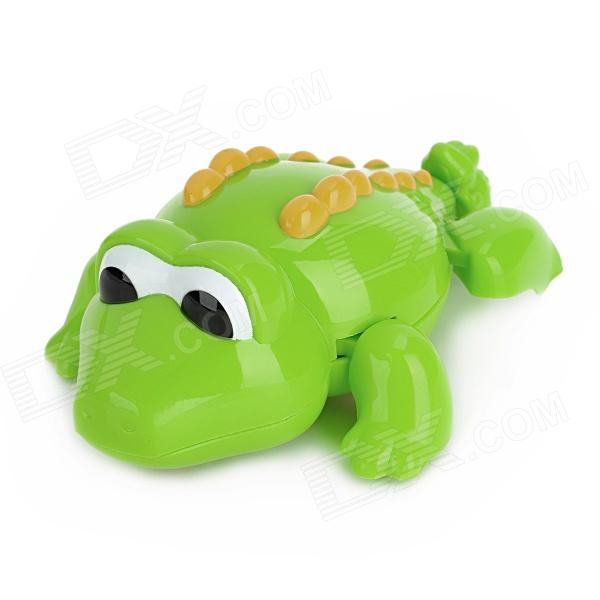Cute Crocodile Style Moving Showering Bathing Toy - Green one alkaline water ionizer machine model wth 803 and one ph tester