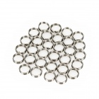 Stainless Steel Protection Dart Rod Rings - Silver (30 PCS)