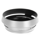 Lens Hood w/ Adapter Ring for Fujifilm FinePix X100 - Silver