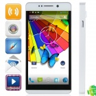 "W89 MTK6589 Quad-Core Android 4.2.1 WCDMA Bar Phone w/ 5.0"" HD, Wi-Fi and GPS - Silver"