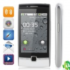 "HUAWEI U8500 Android 2.1 WCDMA Bar Phone w/ 3.2"" Capacitive Screen, Wi-Fi and GPS - Black + Silver"