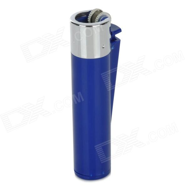 Lighter Style Portable Medicine Pill Storage Box - Blue
