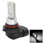 J-20 Samsung 2323 LED 30V 12W 360LM 6500K 12 Emitters White Light 9006 Connector Car Lamp - Silver