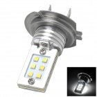 J-18 Samsung 2323 LED 30V 12W 360LM 6500K 12 Emitters White Light H7 Connector Car Lamp - Silver