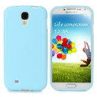 Protective TPU Back Case for Samsung Galaxy S4 / i9500  - Light Blue
