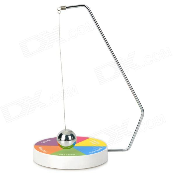 Board Game Hanging Ball Decision Maker - Multicolored