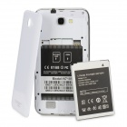 "N7189 (K47/C9_89) Quad-Core Android 4.0 WCDMA Bar Phone w/ 5.3"" Capacitive, Wi-Fi and GPS - White"