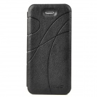 KALAIDENG Stylish Ribbon Pattern Protective PU Leather Case for Iphone 5 - Black