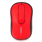 RAPOO T120P 5G Wireless 1000DPI Mouse w/ Touch Scroll Wheel - Red + Black (2 x AA)