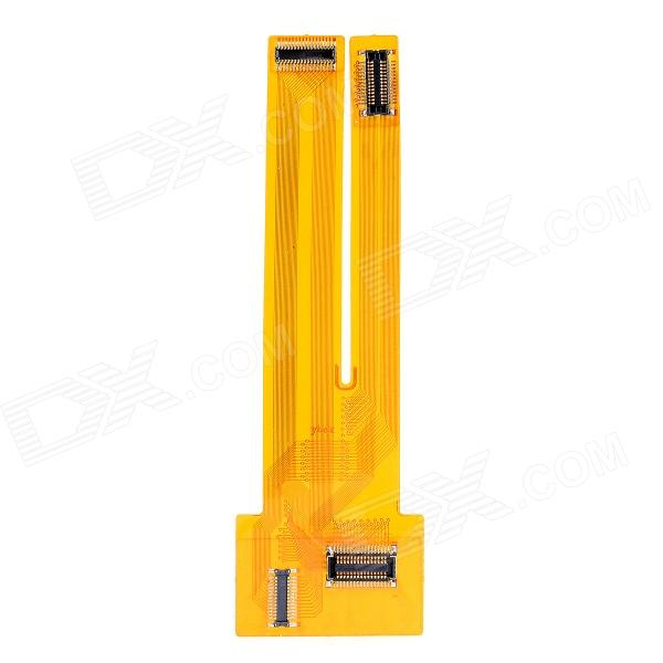 LCD Screen / Digitizer Tester Extended Flex Cable for Iphone 4 / 4S - Yellow