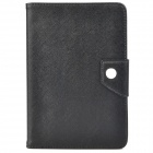 Classic Flip-open Protective Smart PU Leather Case w/ TPU Back Case & Holder for Ipad MINI - Black