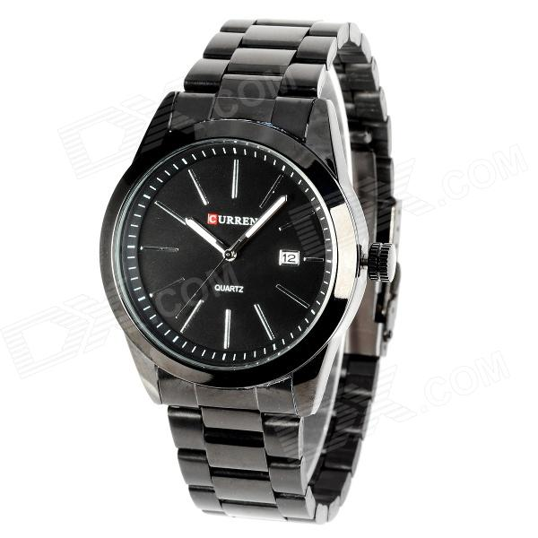 CURREN 8019 Water Resistant Electroplating Tungsten Steel Quartz Wrist Watch - Black (1 x 626) curren 8019 water resistant electroplating tungsten steel quartz wrist watch black 1 x 626 page 7