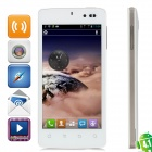 "K-Touch U86 Android 4.1 Quad-Core WCDMA Bar Phone w/ 4.5"" Capacitive Screen, Wi-Fi and GPS - White"