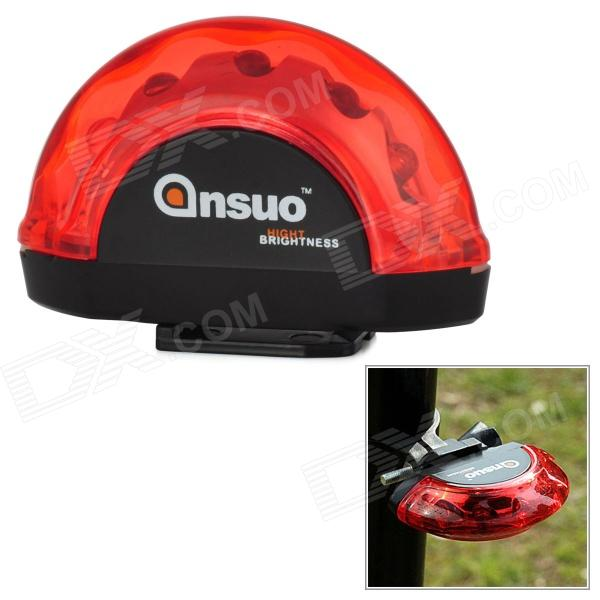 ANSUO AZ-108 5-LED Red Light 7-Mode Bicycle Tail Lamp w/ Mount Holder jennyfer jennyfer je008ewghe94