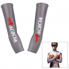 ACACIA Anti-ultraviolet Sports Cycling Riding Sleeves - Grey (Size XL / Pair)