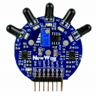5-Channel Flame Sensor Module - Blue