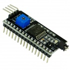 LCD1602 Adapter Board w/ IIC / I2C Interface - Black (Works With Official Arduino Boards)