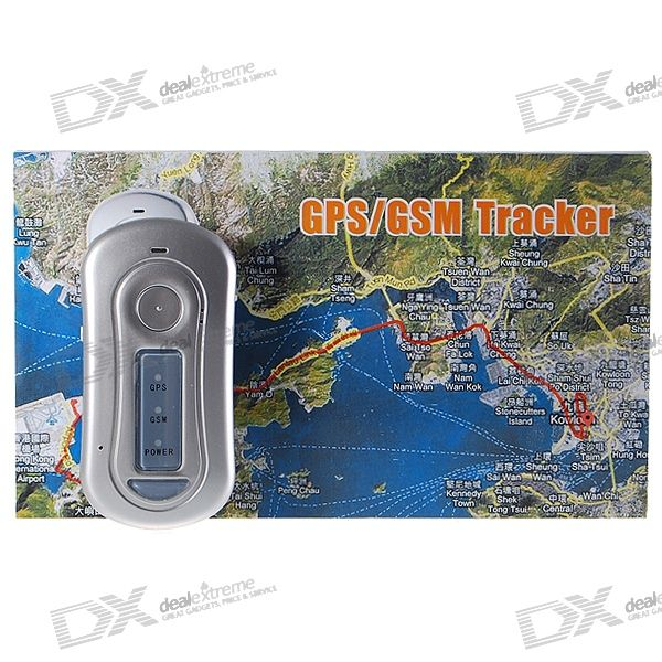 Handheld Dual Band GSM + GPS Remote Personal Position Tracker