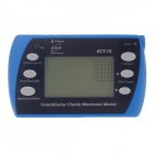 "ENO ECT-10 2.5"" LCD Tuner Chords for Chromatic / Guitar / Bass - Blue + Black + Grey (2 x AAA)"