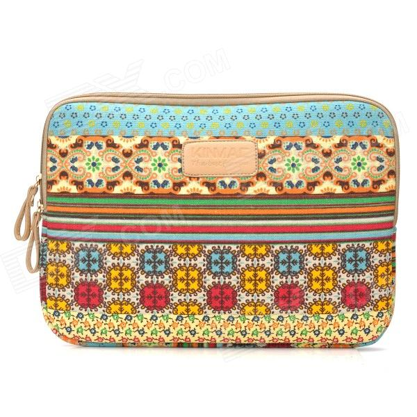 Sleeves Bohemia Style Canvas Sleeve Bag Pouch for 13 13.3 Laptop - Multicolored - DXBags &amp; Pouches<br>Brand no Quantity 1 Piece Color Multicolored Material Canvas Type Sleeves Compatible Models Laptop Compatible Size 13 and 13.3 Other Features Protects your laptop notebook from scratch scrape shock and dust; Durable lightweight and great hand feeling Packing List 1 x Sleeve<br>