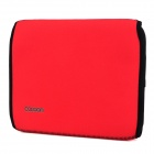 Cocoon YSDX-835 Creative Storage & Sorting Plate w/ Velcro Pouch for Ipad - Red + Black