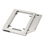 SATA Hard Drive Enclosure HDD Frame for Macbook Pro - Silver + Black
