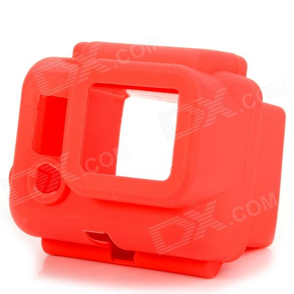 Protective Silicone Case for Gopro Hero 3 - Watermelon Red