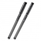 Magical Invisible Blue Ink Pens - Black + Silver (2 PCS)