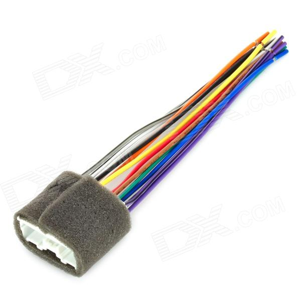 Wiring Harness Adapter Mitsubishi : Auto car stereo dvd wire harness male adapter cable for