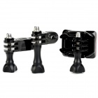 Professional Side Mount Bracket Holder Kits for GoPro Hero 1 / 2 / 3 / 3+ / SJ4000 - Black