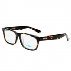MINGDUN MD9249 Fashion Cellulose Acetate Myopia Frame PC Lens Eyeglasses - Hawksbill Color