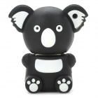 KAU-20 Cute Cartoon Koala Style USB 2.0 Flash Drive Disk - Black + White (8GB)