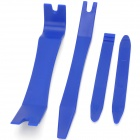 4-in-1 Handy Car Stereo Dismantling / Installing Steel-plastic Synthetic MaterialTool Set - Blue